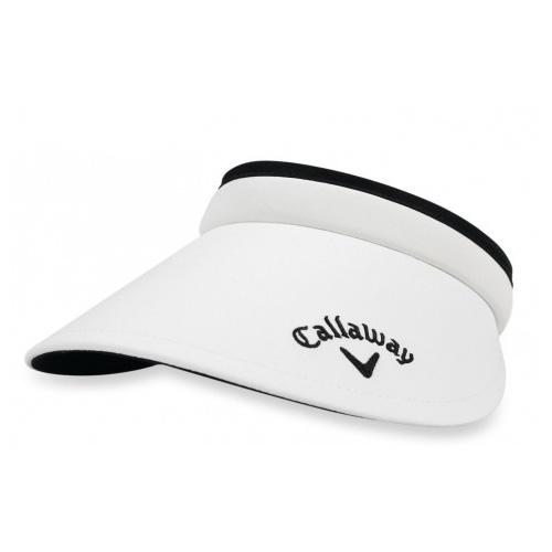 Women's Clip Visor, White, swatch