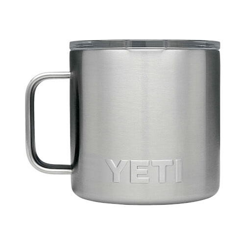 14 Oz. Color Mug, Stainless Steel, swatch