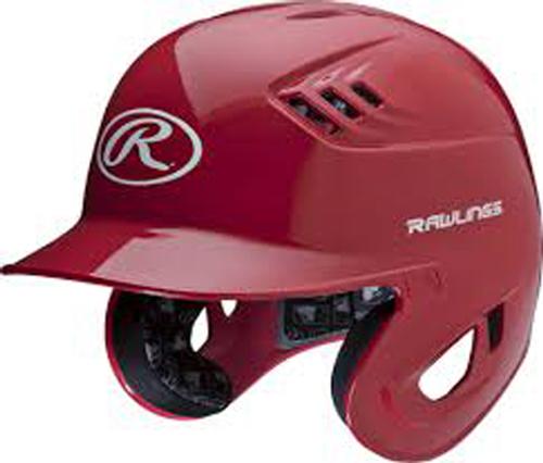 Junior R16 Batting Helmet, Red, swatch