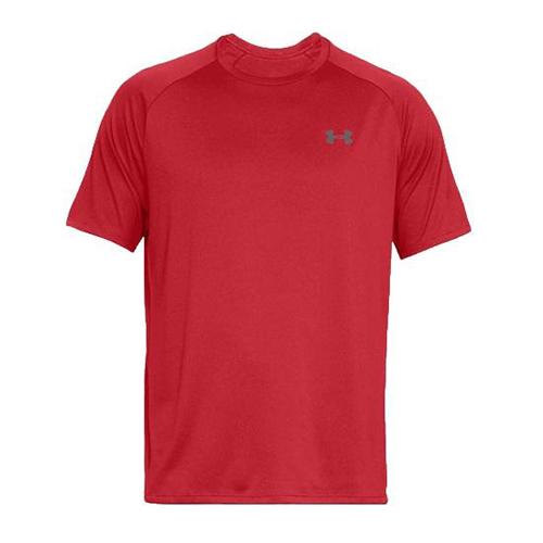 Men's Short Sleeve Tech 2.0 T-Shirt, Red, swatch