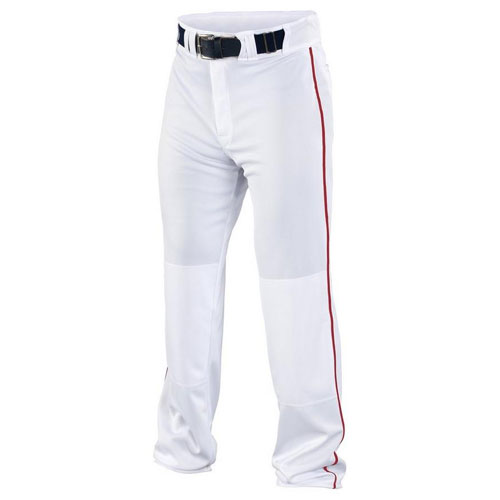 Men's Rival 2 Piped Pant, White/Red, swatch