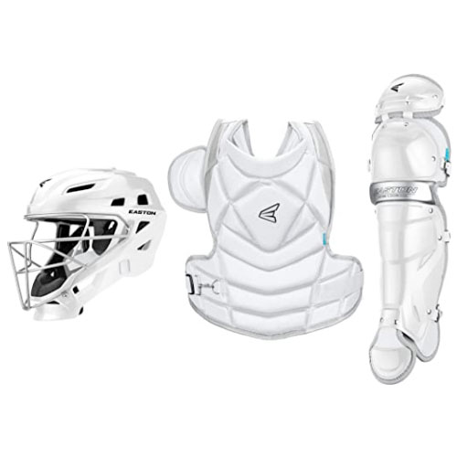 Jen Schro The Fundamental Catcher's Protective Box Set, White, swatch