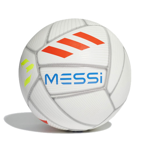 Messi Capitano Soccer Ball, White/Navy/Red, swatch