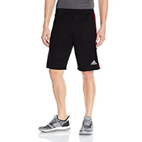 Mens Designed 2 Move 3-Stripes Shorts, Black, swatch