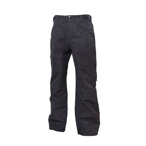 Men's Rider Insulated Ski Pant, Black, swatch