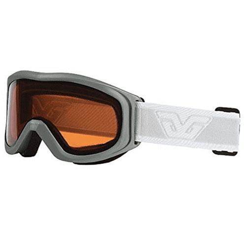 Crest Goggles, Silver,Chrome,Nickel, swatch
