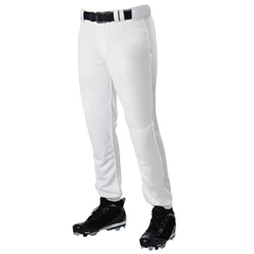 Adult Pro Cut Baseball Pant, White, swatch