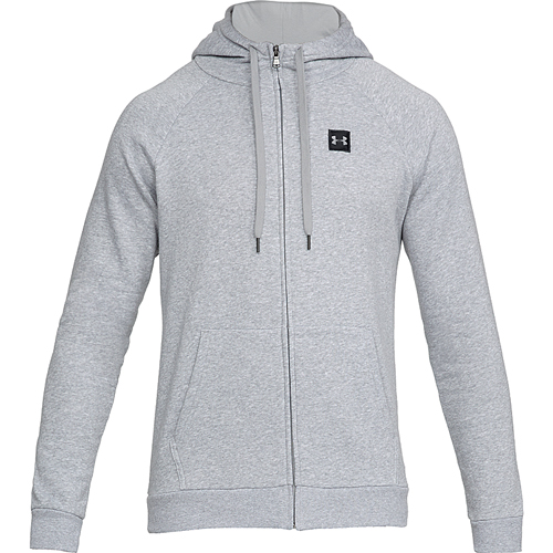 Men's Rival Fleece Full-Zip Hoodie, Charcoal,Smoke,Steel, large