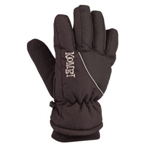 Boys' Snowball Gloves, Black, swatch