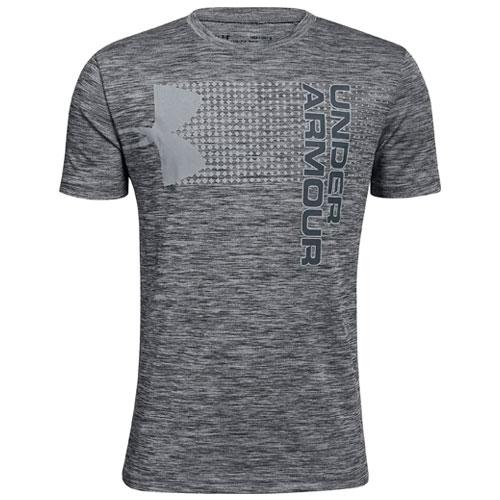 Boys' Crossfade T-Shirt, Black, swatch
