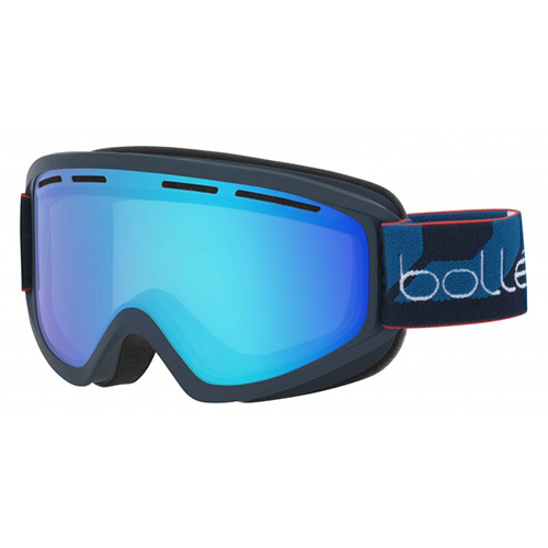 Adult Schuss Snow Goggle, Navy/Blue, swatch