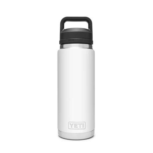 Rambler 26oz Bottle With Chug Cap, White, swatch