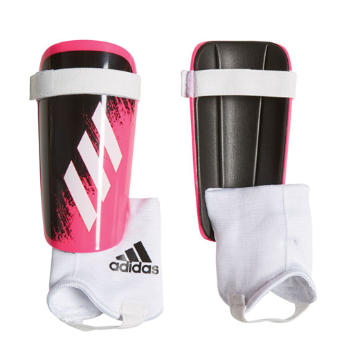 Youth X Match Shin Guards, Pink/White, swatch