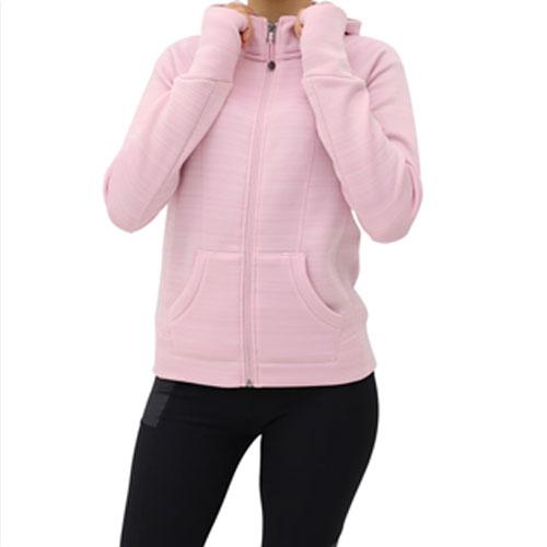 Girls' Fleece Hoodie, Pink, swatch