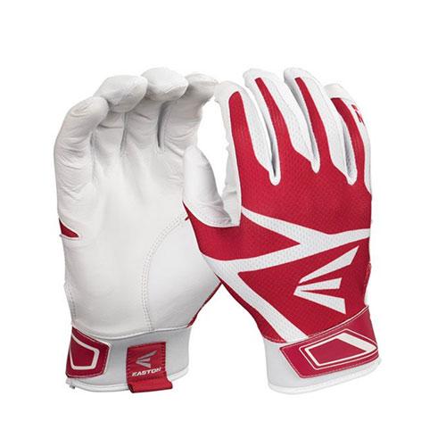 Men's Z3 Hyperskin Batting Gloves, White/Red, swatch