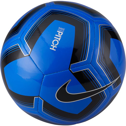 Pitch Training Soccer Ball, Blue/Black, swatch