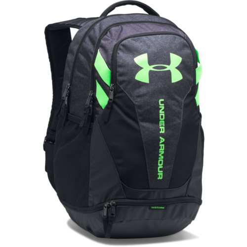 Hustle 3.0 Backpack, Black/Lime Green, swatch