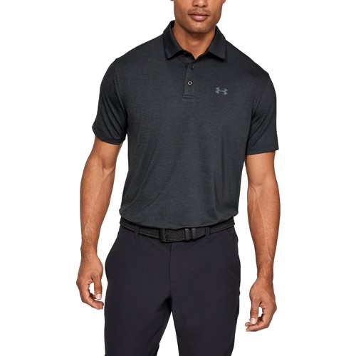 Men's Playoff 2.0 Polo, Black/Black, swatch