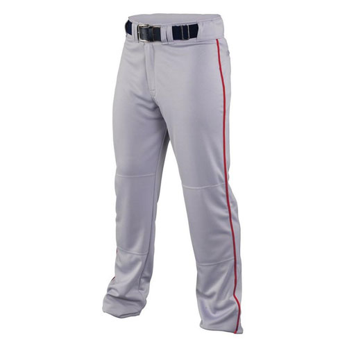 Men's Rival 2 Piped Pant, Gray/Red, swatch