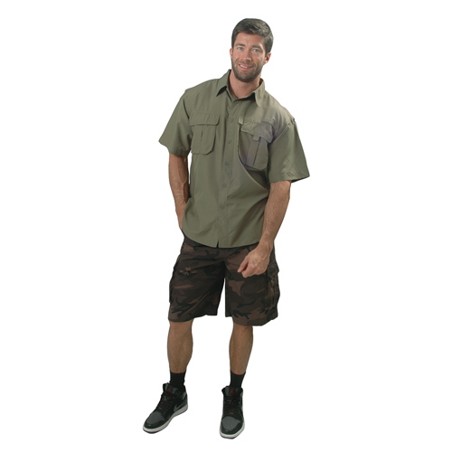 Canyon Creek Men's Cargo Shorts, Camouflage, swatch