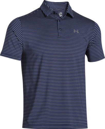 Men's Playoff Golf Polo, Navy, swatch