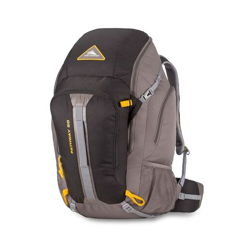 Pathway 50L Pack, Black/Charcoal, swatch