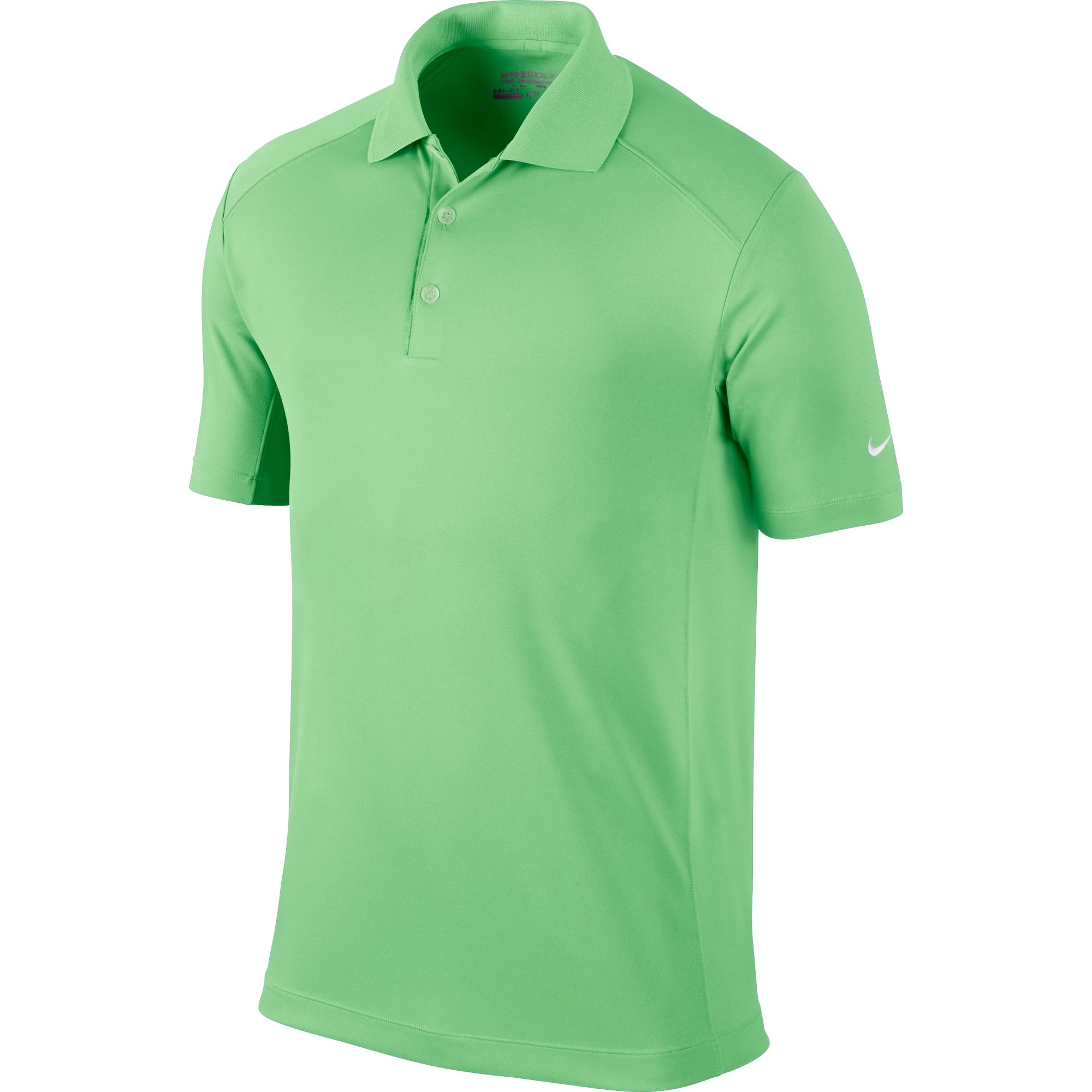 Men's Victory Solid Polo Golf Shirt, Bright Grn,Kelly,Emerald, swatch
