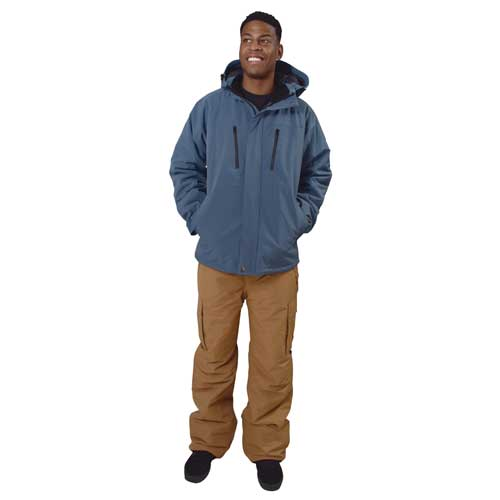 Men's Siberian Insulated Soft Shell Jacket, Blue, swatch