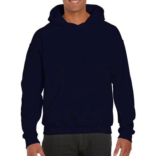 Men's Tall Long Sleeve Hoodie, Navy, swatch