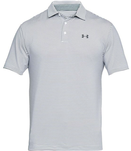 Men's Playoff Golf Polo, Heather Gray, swatch