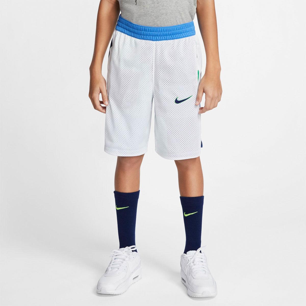 Boys' Elite Reversible Shorts, Blue, swatch