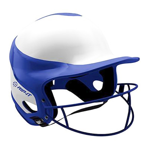 Vision Pro Softball Helmet with Mask, Royal Bl,Sapphire,Marine, swatch