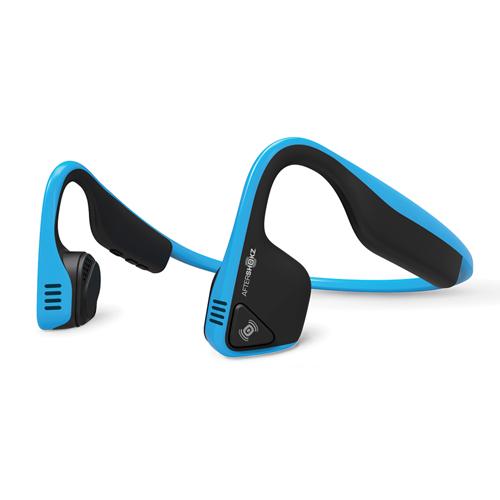 Trekz Titanium Bone Connector Ear Buds, Blue, swatch