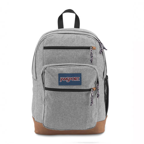Cool Student Backpack, Heather Gray, swatch