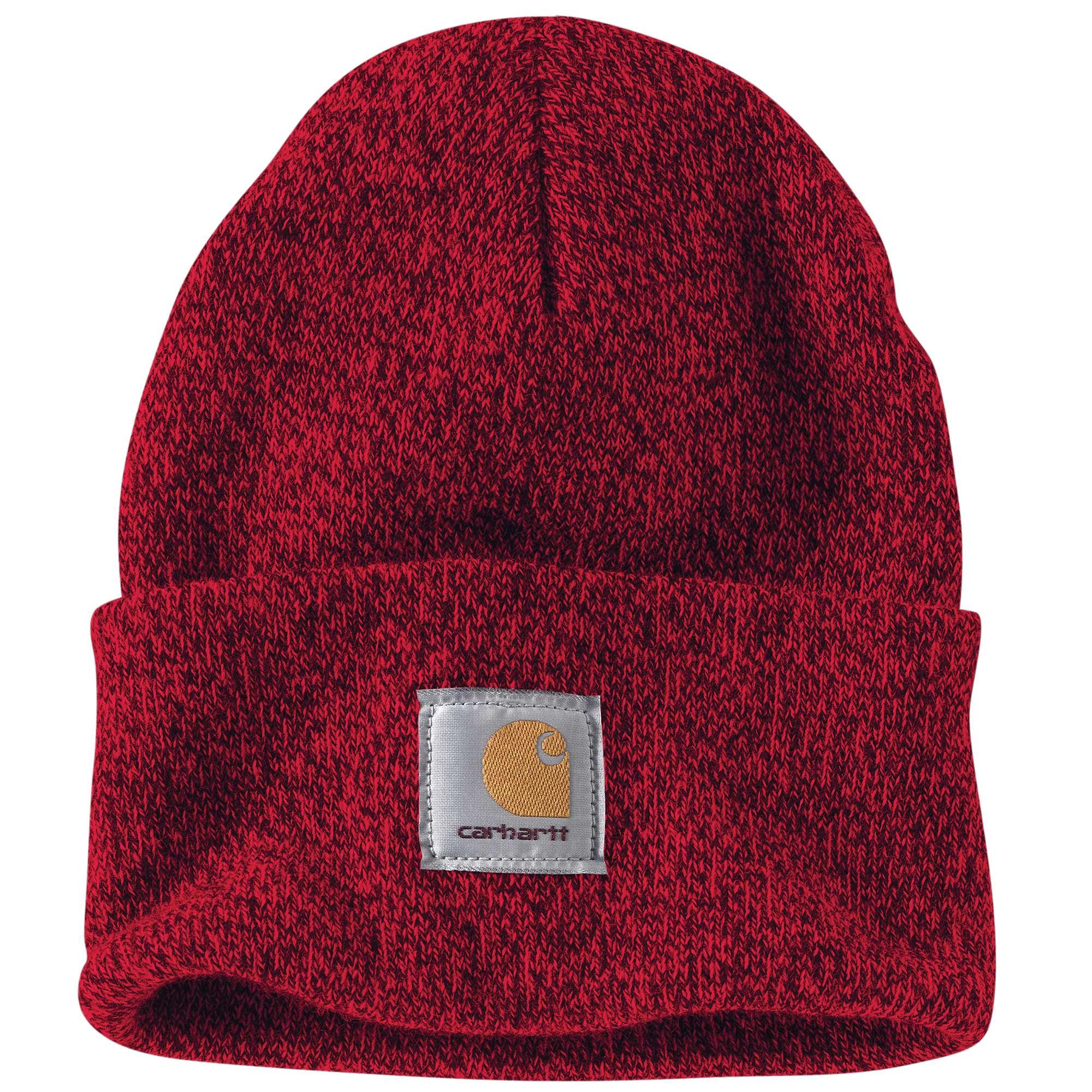 M Cotton Canvas Cap, Navy/Red, swatch