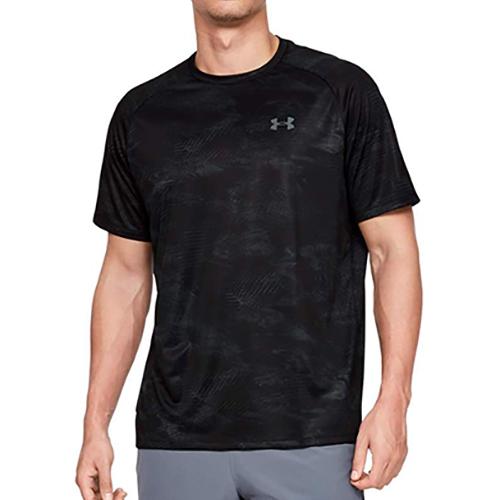Men's Tech 2.0 Short Sleeve Printed T-Shirt, Black, swatch