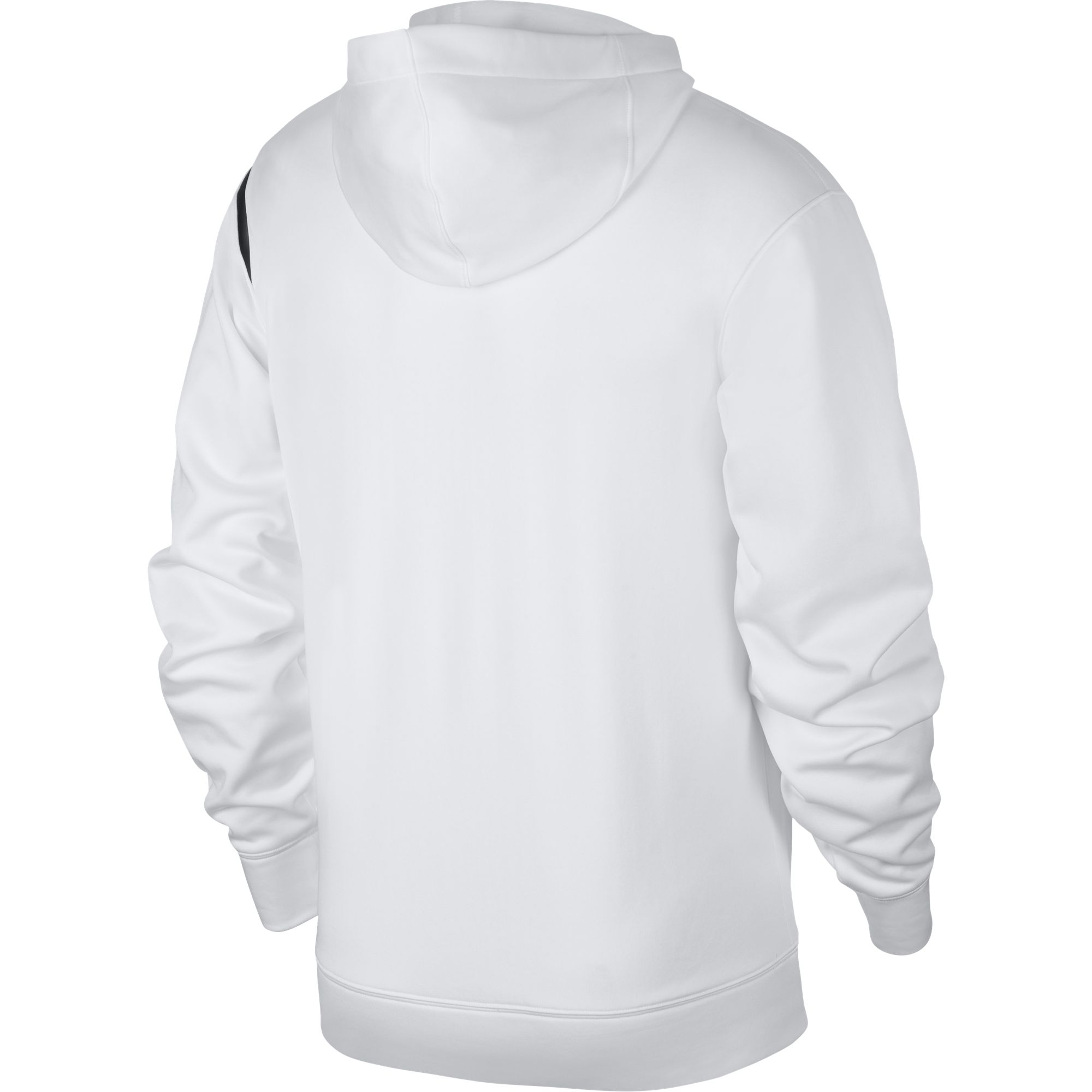 Men's Basketball Pullover Hoodie, White, swatch