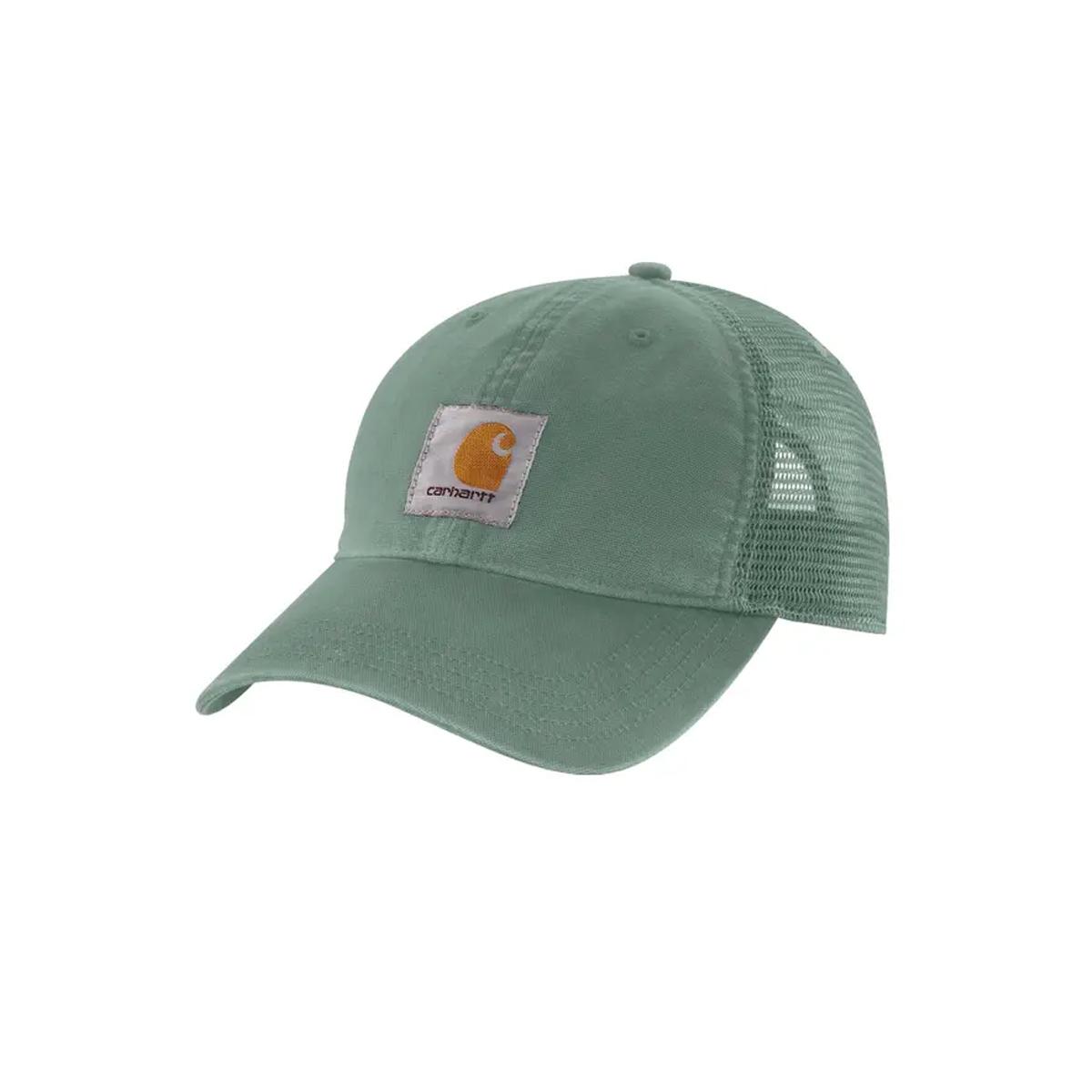 Men's Buffalo Meshback Cap, Green, swatch