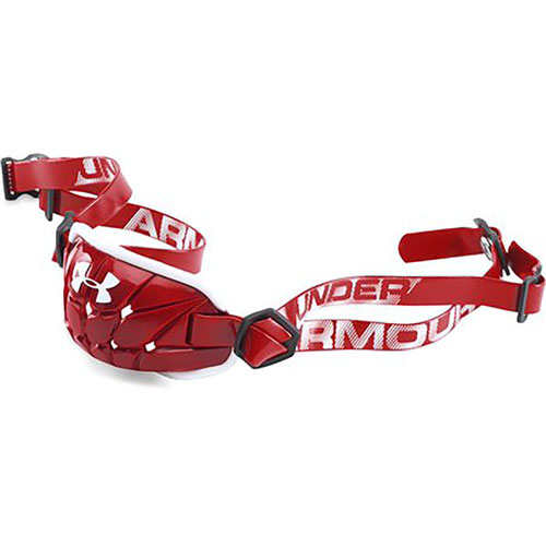 Youth Chin Strap, Red, swatch