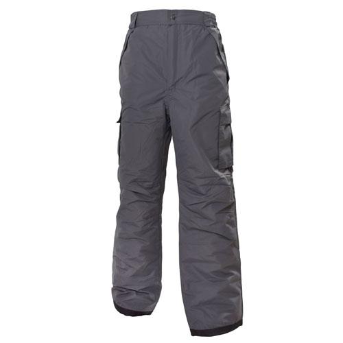 Men's Cargo Snowboard Pants, Heather Gray, swatch