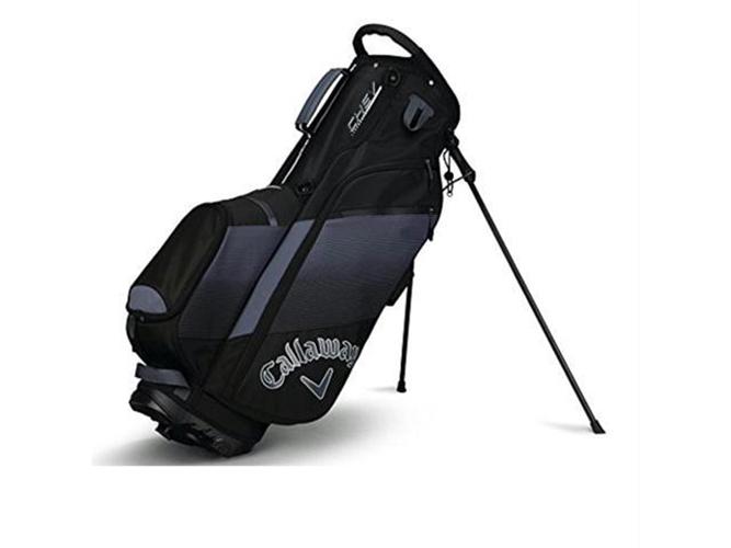 Chev Stand Bag, Black/Gray, swatch