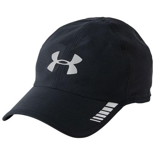 Men's Launch Armourvent Running Hat, Black, swatch
