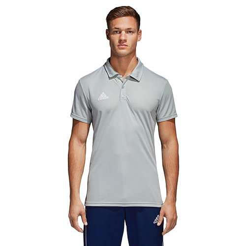 Men's 18 Climalite Polo Shirt, Heather Gray, swatch