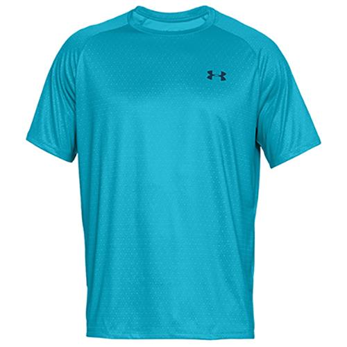 Men's Tech 2.0 Short Sleeve Printed T-Shirt, Blue, swatch