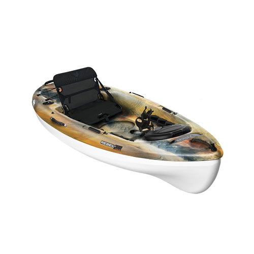 Rebel 100XR Angler Sit-on Kayak, Camouflage Brown, swatch