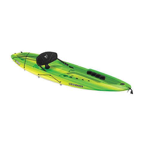 Rise 100X Fade Sit-On Kayak, Red/Yellow, swatch