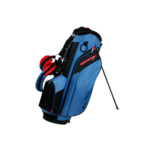 SRX 7.4 Golf Stand Bag, Blue/Red, swatch