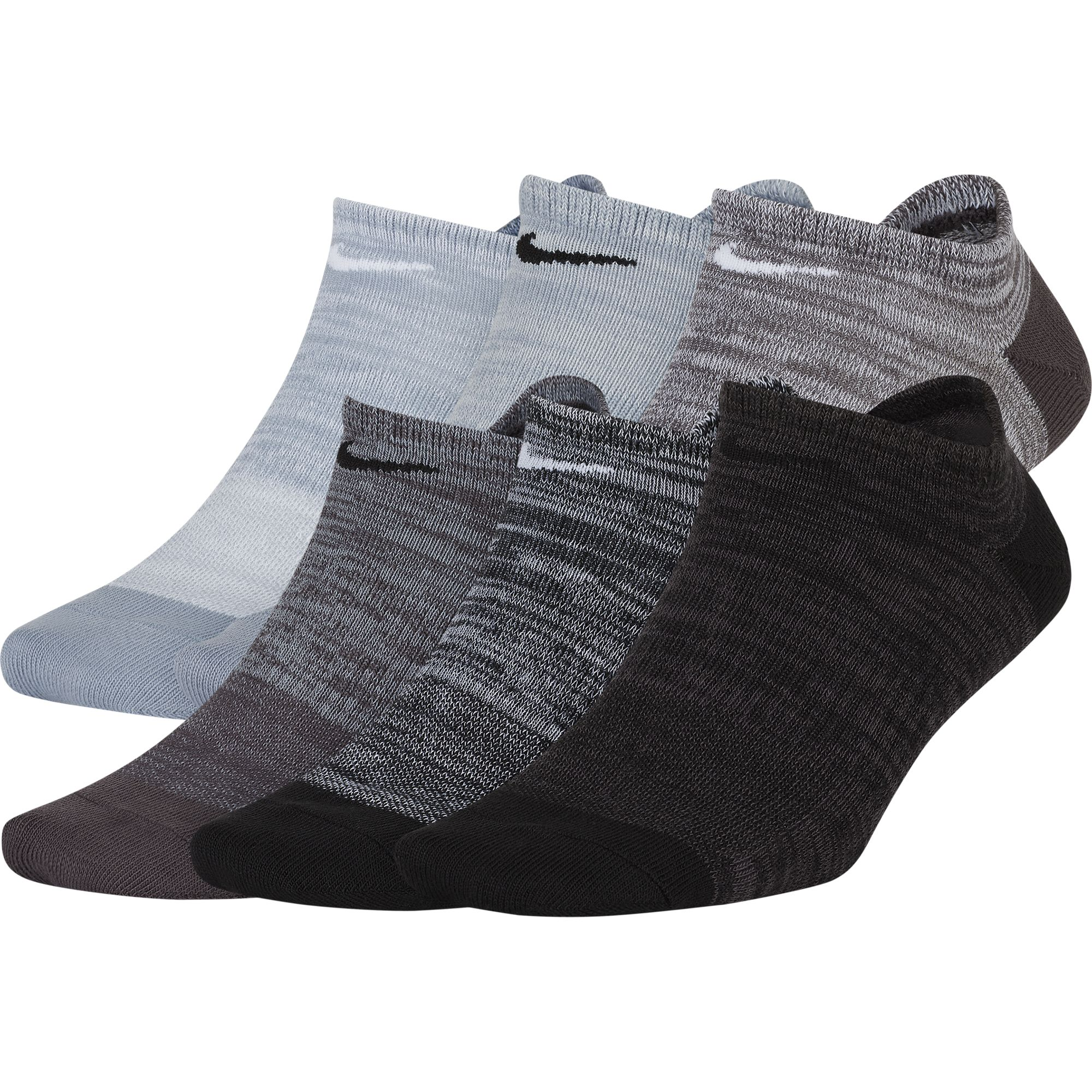 Women's Everyday Lightweight No-Show Socks 6-Pack, , large