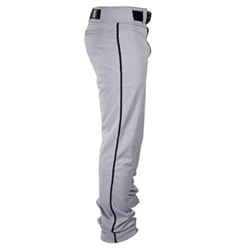 Adult Player Open Bottom Pants, Gray, swatch