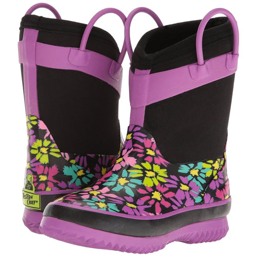 Youth Waterproof Rain Boots, , large